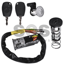 Set for Dacia Buttons:2 / Frequency: 433MHz / Transponder: PCF7946/ PCF7936 / Part No: 806011630R