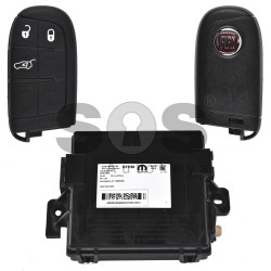 OEM  Smart Set for Fiat Buttons:3 / Frequency: 434MHz / Transponder:AES / Blade Signature: SIP22/ CY24/ CHR-41 / Immobiliser System:BCM / SCC ID: M3N3229600 / Part No: 5WK50250