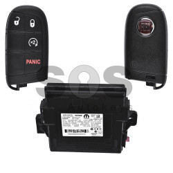 OEM Smart Set for Fiat Buttons:3+1 / Frequency: 434MHz / Transponder:AES / Blade signature: SIP22/ CY24/ CHR-41 / SCC ID: M3N3229600
