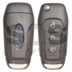 OEM Set for Ford Buttons:3 / Frequency: 434MHz / Transponder: HITAG PRO / Blade Signature: HU101 / Manufacture: FoMoCo / CMIIT ID: 2013DJ6712