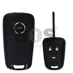 OEM Set for Opel Buttons:3 / Frequency: 433MHz / Transponder: PCF7937 / Blade Signature: HU100 / Immobiliser System:BCM / Manufacture:Valeo