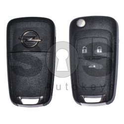 OEM Set for Opel Astra J/ Insignia Buttons:3 / Frequency: 433MHz / Transponder: HITAG2 / Blade Signature:HU100 / Manufacture:WITTE / Part No: UM-Z1848