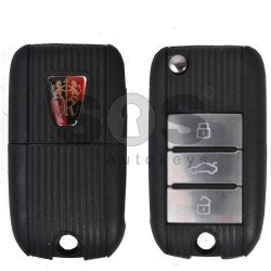 OEM Set for Roewe Buttons:3 / Frequency: 433MHz /  No Transponder /  Part No: B95625AH4270467 / Keyless Go