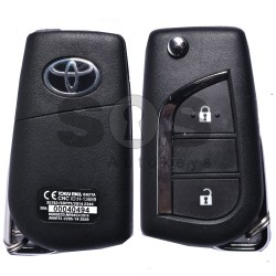 OEM Set for Toyota HILUX Buttons:2 / Frequency: 433MHz / Transponder: TRPWS21/ TOYOTA MASTER 59 / Part No: 61F050-000