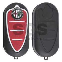 Flip Key for Alfa Romeo Giulietta Buttons:3 Frequency 433 MHz  Transponder: PCF 7946 / ID 46 Part No:71775511 / 71754380 / 71765806  Marelli BSI