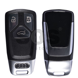 OEM Smart Key for Audi TT Buttons:3 / Frequency:433MHz / Transponder:Newest / Blade signature:HU162T / Part No:4M0 959 754 T / Keyless Go