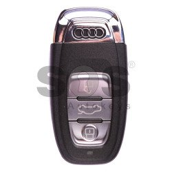OEM Smart Key for Audi SQ5 Buttons:3 / Frequency:868MHz / Blade signature:HU66 / Immobiliser System:BCM 2 / Part No:8K0 959 754 BR / 8K0 959 754 D / 8K0 959 754 H / Keyless Go