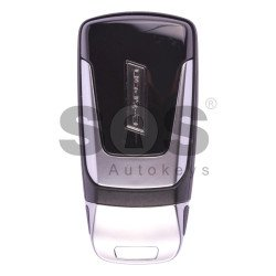 OEM Smart  Key for Audi E-Tron 2016+ Buttons:3 / Frequency: 433MHz / Transponder: Newest / Blade signature: HU162T / Part No: 4M0959754AM / Keyless Go