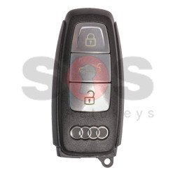 OEM Smart Key for Audi A8 2017+ Buttons: 3 / Frequency: 433MHz /  Blade signature: HU162T / Part No: 4N0959754 / Keyless Go