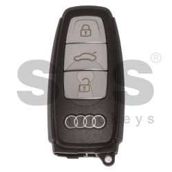 OEM Smart Key for Audi Buttons: 3 / Frequency: 433MHz /  Blade signature: HU162T / Part No: 4N0959754T / Keyless Go
