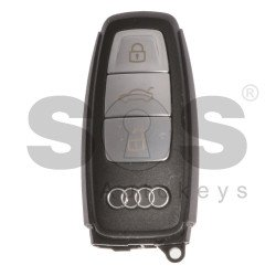 OEM Smart Key for Audi Buttons: 3 / Frequency: 433MHz /  Blade signature: HU162T / Part No: 4N0959754BQ / Keyless Go