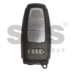 OEM Smart Key for Audi E-Tron Buttons: 3 / Frequency: 433MHz /  Blade signature: HU162T / Part No: 4N0959754BQ / Keyless Go