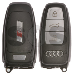 OEM Smart Key for Audi S-Line Buttons: 3 / Frequency: 433MHz /  Blade signature: HU162T / Part No: 4N0959754T / Keyless Go
