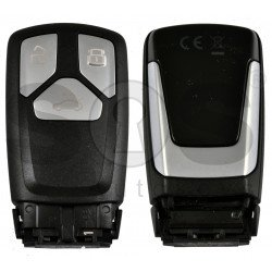 OEM Smart Key for Audi Q7 2016+ Buttons:3 / Frequency:433MHz / Transponder:Newest / Blade signature:HU162T / Part No: 4M0 959 754BC / Keyless Go