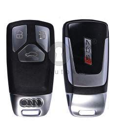 OEM Smart Key for Audi SQ7 2015+ Buttons:3 / Frequency: 433MHz / Transponder:Newest  / Blade signature: HU162T / Part No: 4MO959754AF / Keyless Go