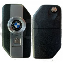 Key for BMW Bikes Buttons:2 / Frequency:433 MHz / Transponder: DST AES / Blade signature :Unknown / Immobiliser System:Bikes EWS  / Keyless Go