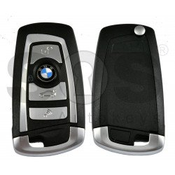 Flip Key for BMW 5series Buttons:3 / Frequency:315 MHz /Transponder : PCF7945 /  Blade signature:HU92 / CAS2