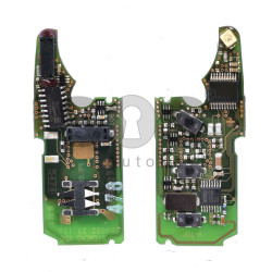 OEM Flip Key (PCB) for AUDI / VOLKSWAGEN / BENTLEY Buttons:3 Frequency 433 MHz Transponder:PCF 7943 Keyless Go