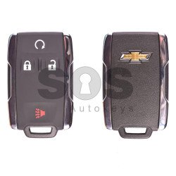 OEM Smart Key for Chevrolet Buttons:3+1 / Frequency:433MHz / IC ID:7812A-32337100 / Blade signature:HU100 / Immobiliser System:BCM / Keyless Go (Automatic Start)