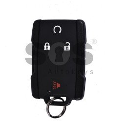 OEM Smart Key for Chevrolet Silverado Buttons:3+1 / Frequency:315MHz / Blade signature:HU100 / Immobiliser System:BCM / Keyless Go (Automatic Start)