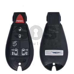 OEM Smart Key for Chrysler Buttons:5+1 / Frequency:433MHz / Transponder:PCF 7941/HITAG2 / Blade signature:CY24