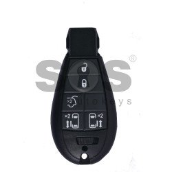 OEM Smart  Key for Chrysler Buttons:5 / Frequency: 433MHz / Transponder: PCF7953 / Blade signature: CY24 / Part No: 56046708AE/ 56046710AE/ 56046710AF/ 56046710AG / Keyless Go