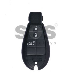 OEM Smart Key for Chrysler Buttons:3 / Frequency: 433MHz / Transponder: PCF 7941/ HITAG2 / Blade signature:CY24 / Part No: 56046708AE
