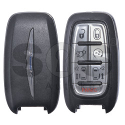 OEM Smart Key for Chrysler Buttons:6+1P / Frequency: 434MHz / Transponder: HITAG 128-bit / AES / UNLOCKED (Automatic Start)