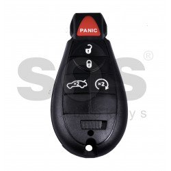 Smart  Key for Jeep/Chrysler/Dodge Buttons:4+1 / Frequency: 433MHz / Transponder: PCF7941 / Blade signature: CY24