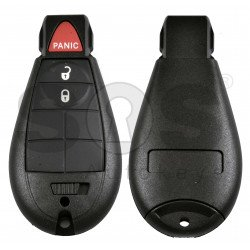 Smart  Key for Jeep/Chrysler/Dodge Buttons:2+1P / Frequency: 433MHz / Transponder: PCF7945/7953 / Blade signature: CY24 / KeylessGO /