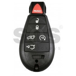 Smart  Key for Jeep/Chrysler/Dodge Buttons:5+1P / Frequency: 433MHz / Transponder: PCF7945/7953 / Blade signature: CY24 / KeylessGO / Automatic Start