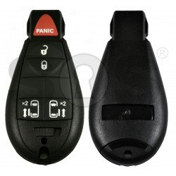 Smart  Key for Jeep/Chrysler/Dodge Buttons:4+1P / Frequency: 433MHz / Transponder: PCF7945/7953 / Blade signature: CY24 / KeylessGO /