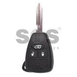Regular Key for Dodge Buttons:3 / Frequency:433MHz / Transponder:PCF 7961 / Blade signature:CY24