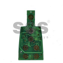 OEM Smart (PCB) Key for Fiat Croma Buttons:7 / Frequency:433 MHz / Transponder:HITAG 128-Bit AES / Blade signature:CY24 / Part No:22410050 (VIRGIN)