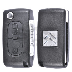 OEM Flip Key for Citroen Buttons:2 / Frequency:433MHz / Transponder:PCF 7941 A / Blade signature:VA2 / Immobiliser System:BCM / Part No:724217