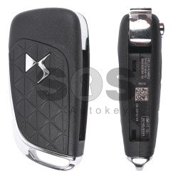 OEM Flip Key for Citroen DS4 Buttons:3 / Frequency:434 MHz / Transponder:PCF 7941 / Blade signature: VA2/ HU83 / Immobiliser System:BCM / Part No: 5FA 010 354-10 / FCC:5FA010354-00