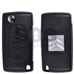 OEM Flip Key for Citroen C5 Buttons:3 / Frequency:433MHz / Transponder:PCF7961/HITAG 2/ID46 / Blade signature:VA2 / Immobiliser System:BCM / Part No:1700204BJ39