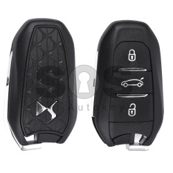 OEM Smart Key for Citroen DS4/DS5 2012+ Buttons:3 / Frequency:434 MHz / Transponder:PCF 7945/7953 / Blade signature:VA2 / Immobiliser System:BCM / Part No: 98004801 ZD / Keyless GO