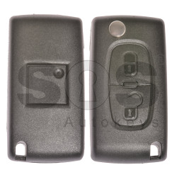 Flip Key for Citroen/Peugeot C5 Buttons:2 / Frequency:433MHz / Transponder:PCF7961/HITAG 2/ID 46 / Blade signature:VA2 / Immobiliser System:BCM / Part No:170 020 4BJ 39