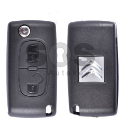 OEM Flip Key for Citroen Buttons:2 / Frequency:433MHz / Transponder:PCF 7941 A / Blade signature:VA2 / Immobiliser System:BCM / Part No: 187453
