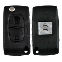 OEM  Flip Key for Citroen Buttons:2 / Frequency:433MHz / Transponder:PCF 7941 A / Blade signature:VA2 / Immobiliser System:BCM / Part No: 724217