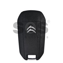 Flip Key for Citroen Buttons:3 / Frequency:434 MHz / Transponder:HITAG AES / Blade signature:HU 83 / Immobiliser System:BCM /