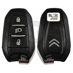 OEM Smart Key for Citroen Buttons:3 / Frequency: 433MHz / Transponder: HITAG AES / Blade signature: VA2/HU83 / Part No: 98 281 195 ZD