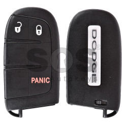 OEM Smart Key for Dodge Buttons:2+1 / Frequency:433MHz / Transponder: PCF 7945/7953 / Blade signature:CY24/SIP22 / FCC ID:M3N-40821302 / Keyless Go