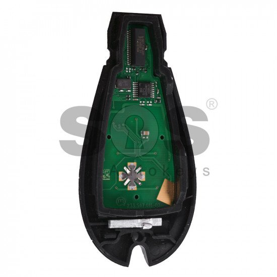OEM Smart Key for Dodge Buttons:5+1 / Transponder:PCF 7941 / Frequency:433MHz / Blade signature:CY24 / Part No:56046705AG