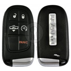 OEM Smart Key for Dodge Ram Buttons:4+1 / Frequency:433MHz / Transponder: PCF 7953 / Blade signature:CY24/SIP22 /  Keyless Go