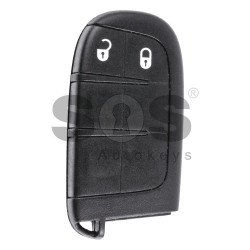 OEM Smart Key for Fiat Freemont 2011 Buttons:2 / Frequency:433MHz / Transponder:PCF 7953/7945 / Bladesignature:CY24/SIP22 / Immobiliser System:BCM / Keyless GO