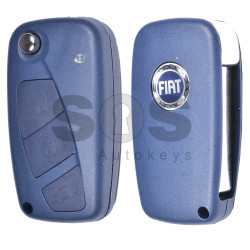Flip Key for Fiat Fiorino Buttons:3 / Frequency:433MHz / Transponder:PCF7946 / Blade signatire:SIP22 / Immobiliser System:Delphi BSI / Part No:21003377