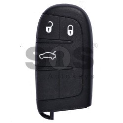 OEM Smart Key for Fiat Buttons:3 / Frequency:434 MHz / Transponder: PCF 7945/ 7953 / Blade signature:CY24/SIP22 / Immobiliser System:BCM / Keyless Go