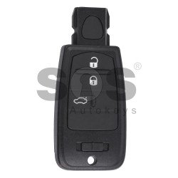 OEM Smart  Key for Fiat Croma Buttons:3 / Frequency:433MHz / Transponder:PCF 7961/ AES / Blade signature:CY24/CHR-41 / Immobiliser System:BCM / Keyless GO